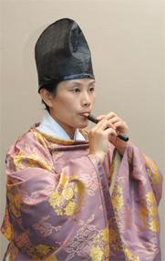 Hitomi Nakamura, hichiriki Photo: Shinji Takehara