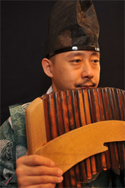 Takeshi Sasamoto, haisho, Shosoin shakuhachi, ryuteki